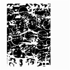 Black and white confusion Small Garden Flag (Two Sides)
