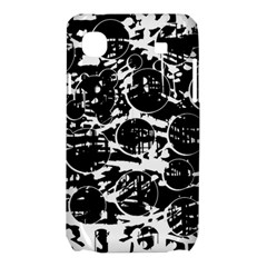 Black and white confusion Samsung Galaxy SL i9003 Hardshell Case