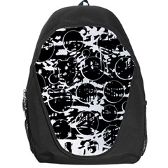 Black and white confusion Backpack Bag