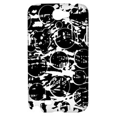 Black and white confusion Samsung Galaxy Note 2 Hardshell Case