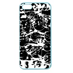 Black and white confusion Apple Seamless iPhone 5 Case (Color)