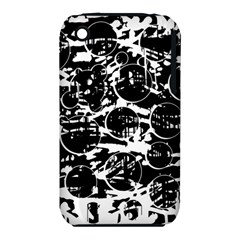 Black and white confusion Apple iPhone 3G/3GS Hardshell Case (PC+Silicone)