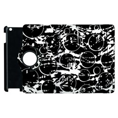 Black and white confusion Apple iPad 3/4 Flip 360 Case