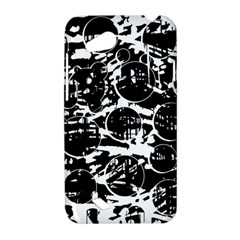 Black and white confusion HTC Desire VC (T328D) Hardshell Case