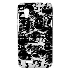 Black and white confusion HTC Desire VT (T328T) Hardshell Case