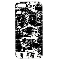 Black and white confusion Apple iPhone 5 Hardshell Case with Stand