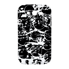 Black and white confusion Samsung Galaxy Grand DUOS I9082 Hardshell Case