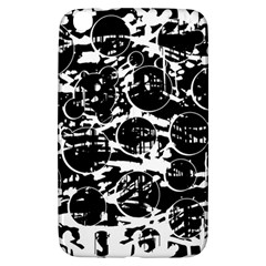 Black and white confusion Samsung Galaxy Tab 3 (8 ) T3100 Hardshell Case