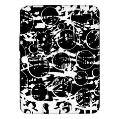 Black and white confusion Samsung Galaxy Tab 3 (10.1 ) P5200 Hardshell Case