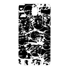 Black and white confusion Samsung Galaxy Note 3 N9005 Hardshell Back Case