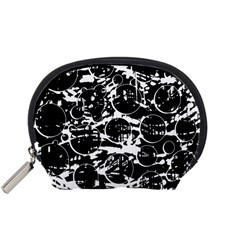 Black and white confusion Accessory Pouches (Small)