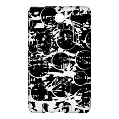 Black and white confusion Samsung Galaxy Tab 4 (7 ) Hardshell Case