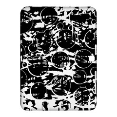 Black and white confusion Samsung Galaxy Tab 4 (10.1 ) Hardshell Case