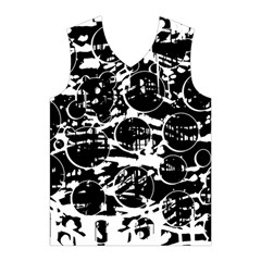 Black and white confusion Men s Basketball Tank Top