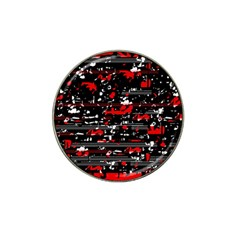 Red symphony Hat Clip Ball Marker