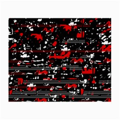 Red symphony Small Glasses Cloth