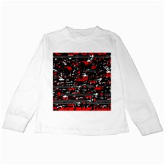 Red symphony Kids Long Sleeve T-Shirts