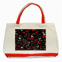 Red symphony Classic Tote Bag (Red)
