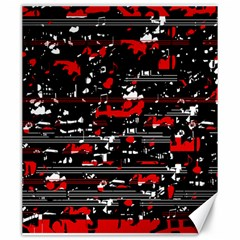 Red symphony Canvas 20  x 24