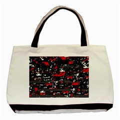 Red symphony Basic Tote Bag (Two Sides)