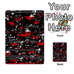 Red symphony Multi-purpose Cards (Rectangle)