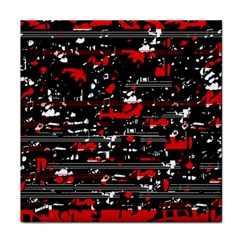 Red symphony Face Towel