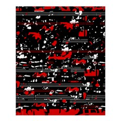 Red symphony Shower Curtain 60  x 72  (Medium)