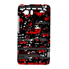 Red symphony HTC Vivid / Raider 4G Hardshell Case