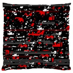 Red symphony Large Cushion Case (One Side)