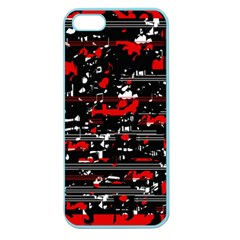 Red symphony Apple Seamless iPhone 5 Case (Color)