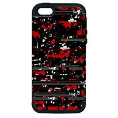 Red symphony Apple iPhone 5 Hardshell Case (PC+Silicone)