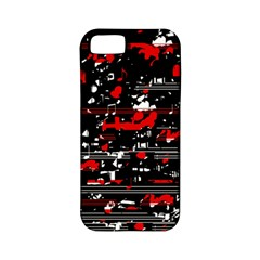 Red symphony Apple iPhone 5 Classic Hardshell Case (PC+Silicone)