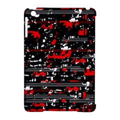 Red symphony Apple iPad Mini Hardshell Case (Compatible with Smart Cover)