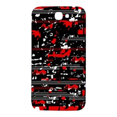 Red symphony Samsung Note 2 N7100 Hardshell Back Case