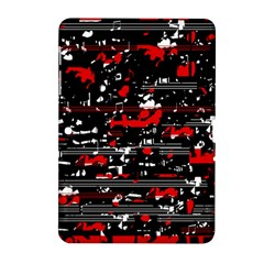 Red symphony Samsung Galaxy Tab 2 (10.1 ) P5100 Hardshell Case