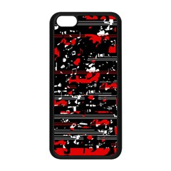Red symphony Apple iPhone 5C Seamless Case (Black)
