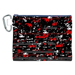 Red symphony Canvas Cosmetic Bag (XXL)