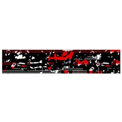 Red symphony Flano Scarf (Small)