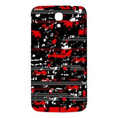 Red symphony Samsung Galaxy Mega I9200 Hardshell Back Case