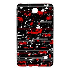 Red symphony Samsung Galaxy Tab 4 (8 ) Hardshell Case