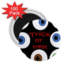 Trick or treat  2.25  Magnets (100 pack)