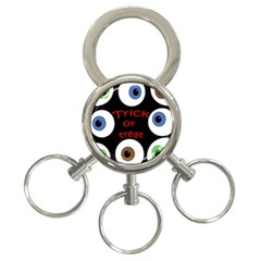 Trick or treat  3-Ring Key Chains