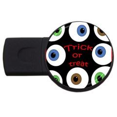 Trick or treat  USB Flash Drive Round (1 GB)