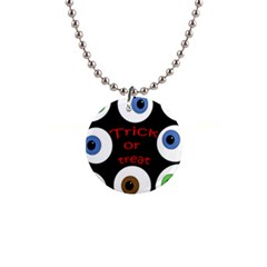 Trick or treat  Button Necklaces