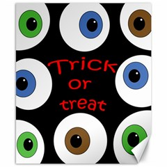 Trick or treat  Canvas 8  x 10