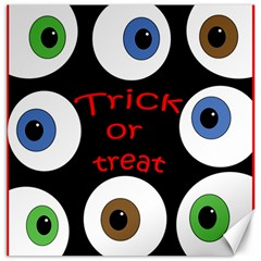 Trick or treat  Canvas 12  x 12