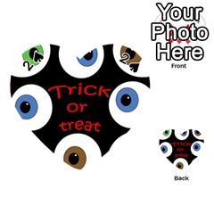 Trick or treat  Playing Cards 54 (Heart)