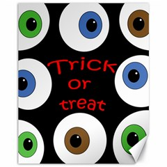 Trick or treat  Canvas 11  x 14
