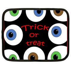Trick or treat  Netbook Case (Large)