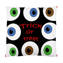 Trick or treat  Standard Cushion Case (Two Sides)
